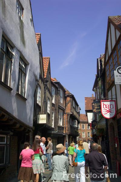 Picture of The Shambles, York - Free Pictures - FreeFoto.com