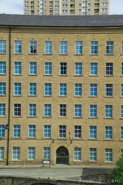 Picture of Dean Clough, Halifax, West Yorkshire - Free Pictures - FreeFoto.com