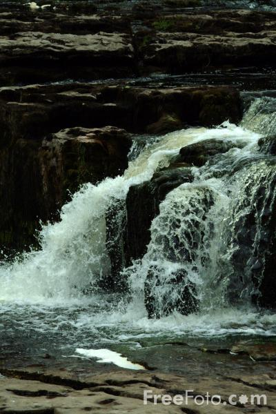 Picture of Aysgarth Falls, North Yorkshire - Free Pictures - FreeFoto.com