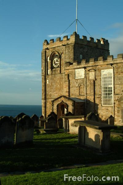 Picture of St Mary's Church, Whitby - Free Pictures - FreeFoto.com
