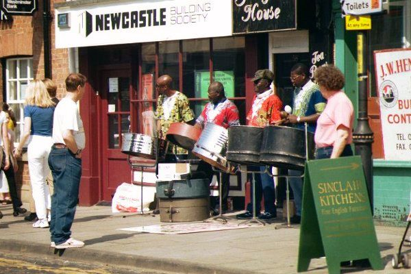 Picture of Steel Band on Yarm High Street - Free Pictures - FreeFoto.com