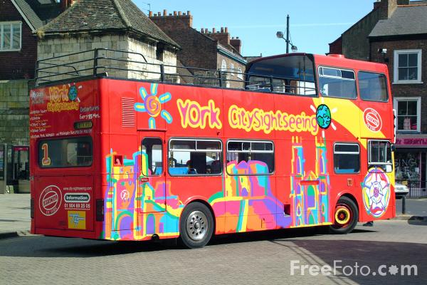 Picture of York City Sightseeing - Free Pictures - FreeFoto.com