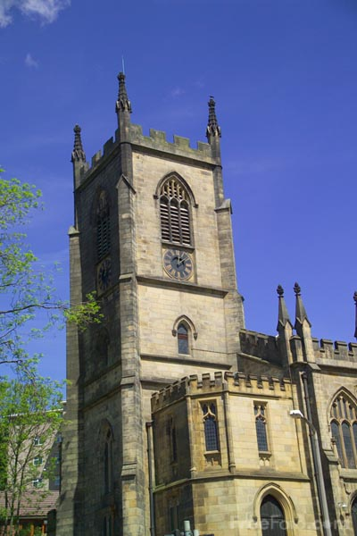 Picture of Christ Church, Sowerby Bridge, West Yorkshire. - Free Pictures - FreeFoto.com