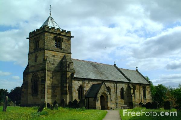 Picture of All Saints' Church, Crathorne - Free Pictures - FreeFoto.com