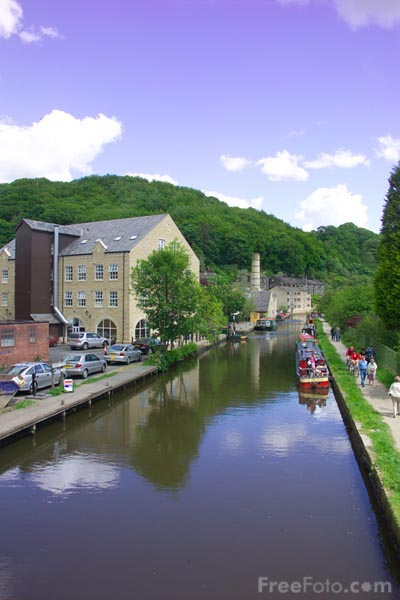 Picture of Hebden Bridge, West Yorkshire - Free Pictures - FreeFoto.com