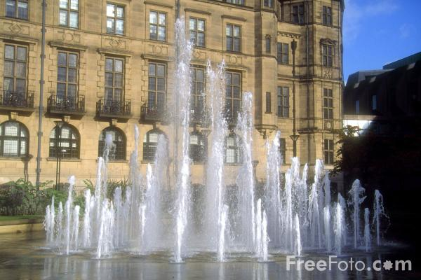 Picture of The Peace Gardens, Sheffield - Free Pictures - FreeFoto.com