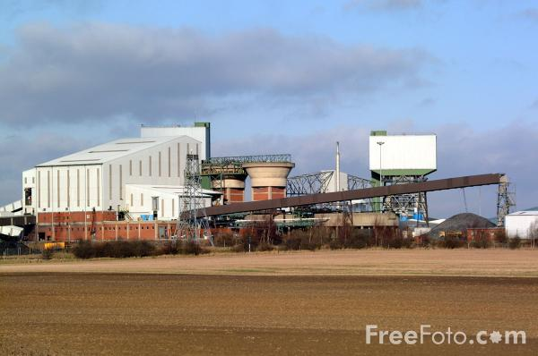 Picture of RJB Mining Kellingley Colliery - Free Pictures - FreeFoto.com