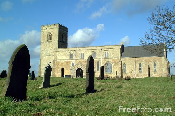 Picture of Parish Church near Knottingley - Free Pictures - FreeFoto.com