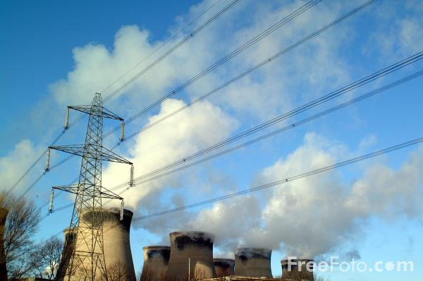 Picture of Ferrybridge Power Station - Free Pictures - FreeFoto.com