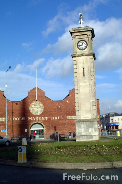 Picture of Goole Food Market - Free Pictures - FreeFoto.com
