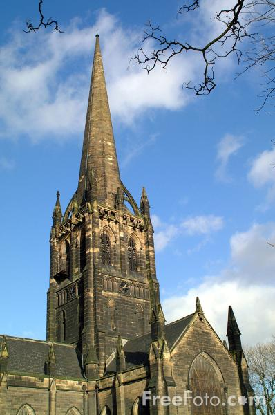 Picture of Parish Church, Goole - Free Pictures - FreeFoto.com