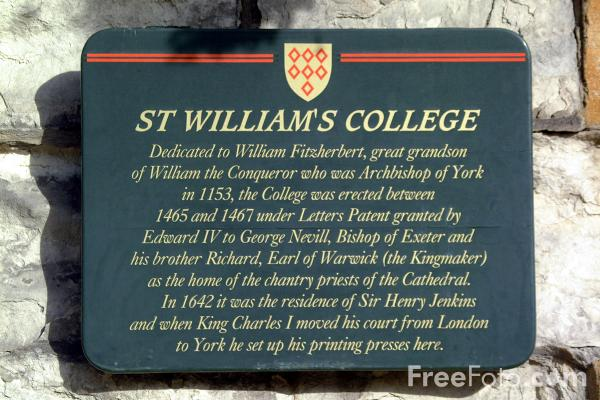 Picture of St Williams College - Free Pictures - FreeFoto.com