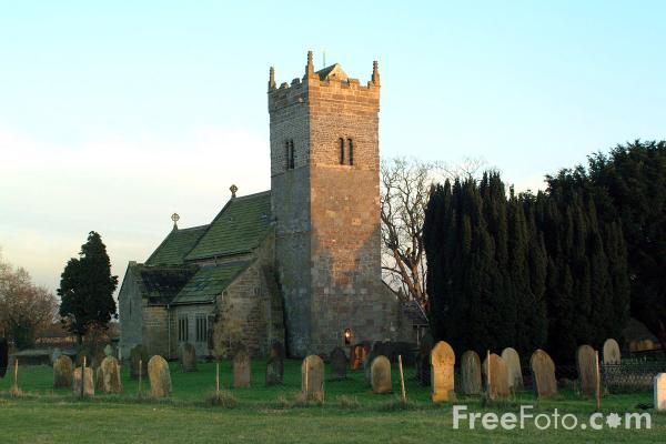 Picture of Holy Trinity church, Little Ouseburn - Free Pictures - FreeFoto.com