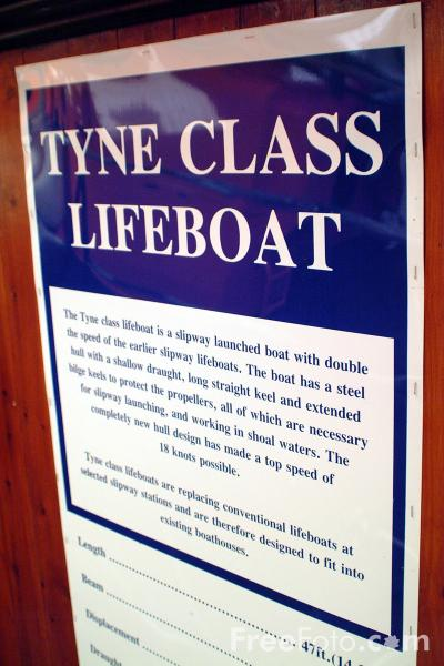 Picture of Tyne Class Lifeboat - Free Pictures - FreeFoto.com