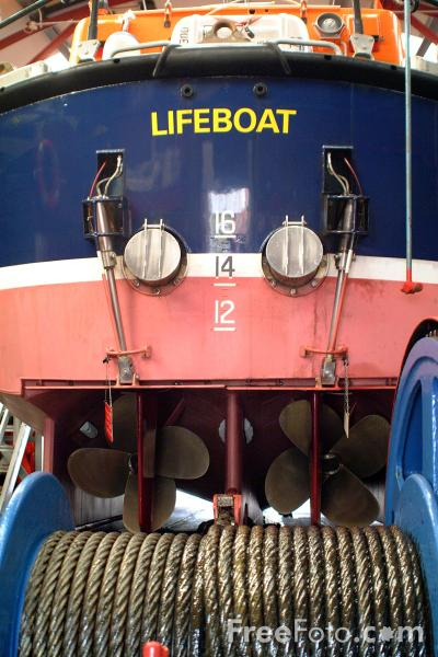 Picture of Teesmouth Lifeboat - Free Pictures - FreeFoto.com