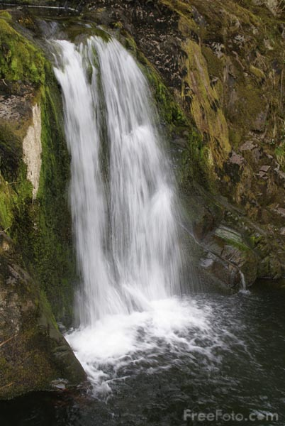 Picture of Pecca Falls, Ingleton - Free Pictures - FreeFoto.com