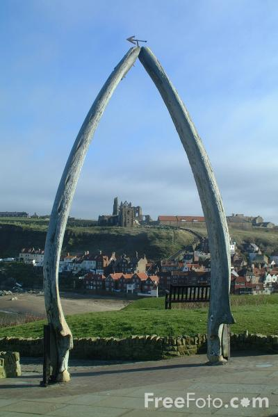 Picture of Whalebone Arch, Whitby, North Yorkshire - Free Pictures - FreeFoto.com