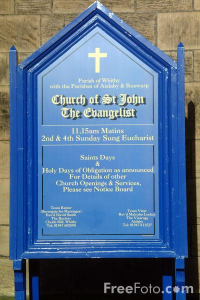 Picture of Church of St John the Evangelist, Whitby - Free Pictures - FreeFoto.com