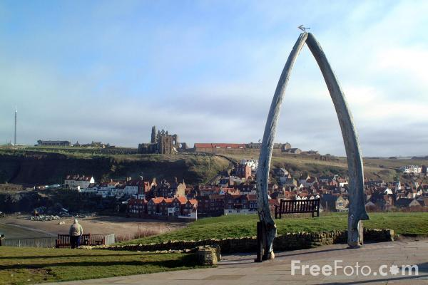 Whitby Abbey, North Yorkshire pictures, free use image, 1051-48-2 ...