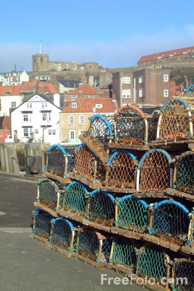 Picture of St Mary's Church, Whitby. - Free Pictures - FreeFoto.com