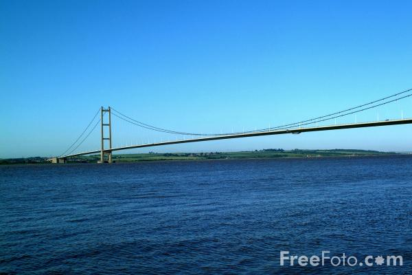 Picture of The Humber Bridge - Free Pictures - FreeFoto.com