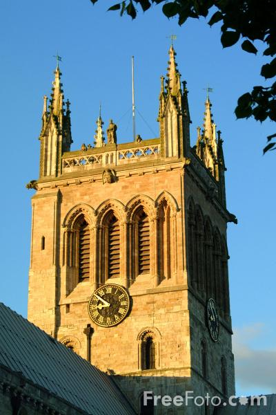 Picture of Selby Abbey - Free Pictures - FreeFoto.com