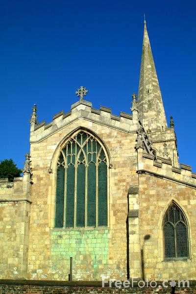 Picture of All Saints Church, Hessle - Free Pictures - FreeFoto.com