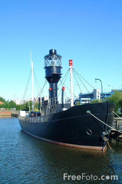 Picture of Spurn Head Lightship, Kingston upon Hull - Free Pictures - FreeFoto.com
