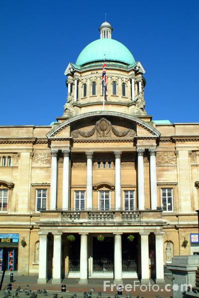Picture of City Hall, Kingston upon Hull - Free Pictures - FreeFoto.com