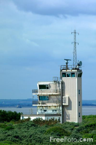Picture of Vessel Traffic Services Centre (VTS), Spurn Point - Free Pictures - FreeFoto.com