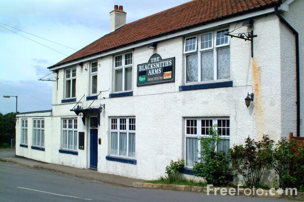 Picture of The Blacksmiths Arms, Swainby - Free Pictures - FreeFoto.com