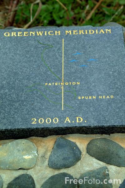 Picture of Greenwich Meridian, Patrington, East Yorkshire - Free Pictures - FreeFoto.com