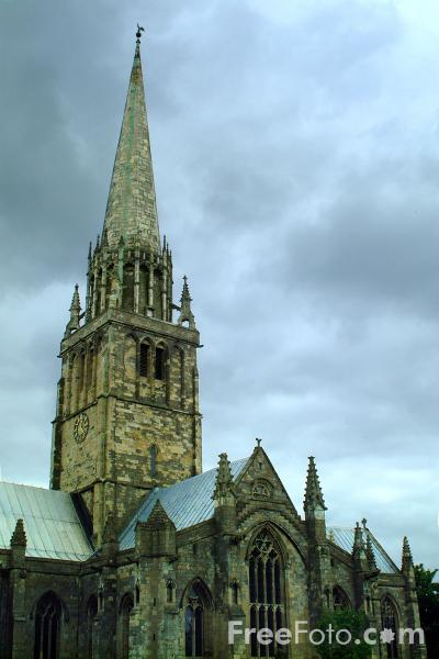 Picture of St Patrick's Church, Patrington - Free Pictures - FreeFoto.com