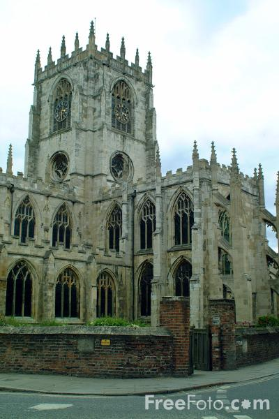Picture of St Mary's Church, Beverley - Free Pictures - FreeFoto.com