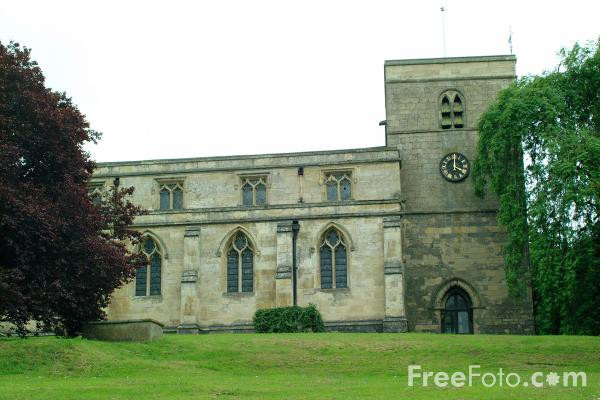 Picture of All Saints' Church, Bishop Burton - Free Pictures - FreeFoto.com