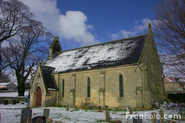 Picture of St Hilda's Chapel, Caldwell, North Yorkshire - Free Pictures - FreeFoto.com