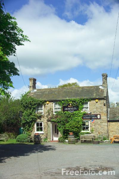 Picture of Brownlow Arms, Caldwell, North Yorkshire - Free Pictures - FreeFoto.com