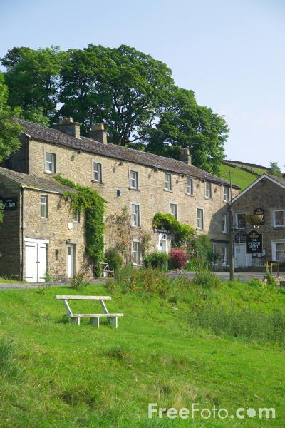 Picture of Low Row, Swaledale - Free Pictures - FreeFoto.com