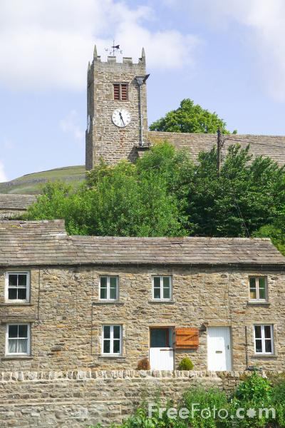 Picture of St Mary's Church, Muker, Swaledale - Free Pictures - FreeFoto.com