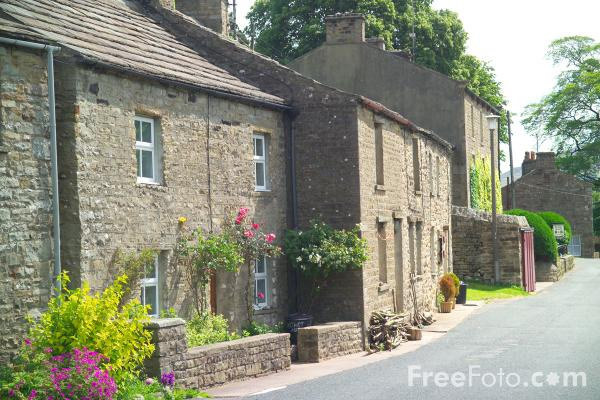 Picture of Muker, Swaledale - Free Pictures - FreeFoto.com