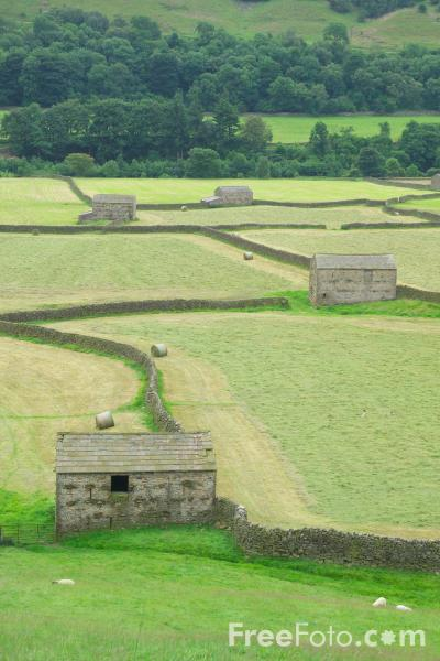 Picture of Gunnerside, North Yorkshire - Free Pictures - FreeFoto.com