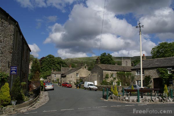 Picture of May Pole, Kettlewell, Wharfedale - Free Pictures - FreeFoto.com