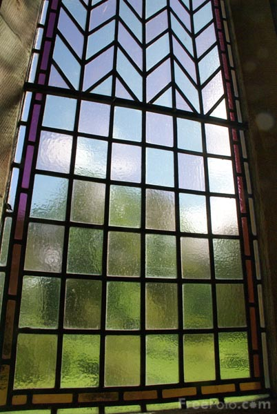 Picture of Window, St. Mary's Church, Kettlewell, Upper Wharfedale - Free Pictures - FreeFoto.com