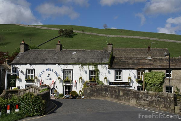 Picture of Kettlewell, Wharfedale - Free Pictures - FreeFoto.com