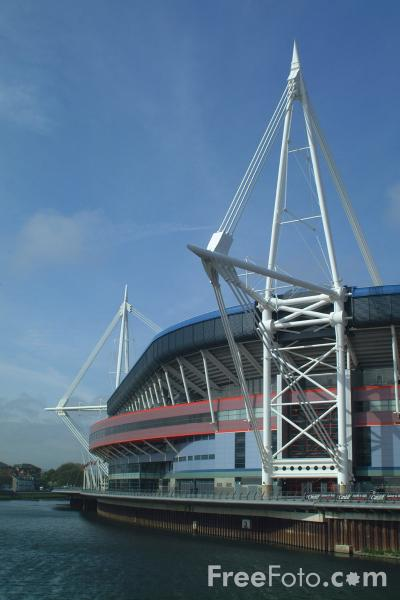 Picture of Millenium Stadium, Cardiff - Free Pictures - FreeFoto.com