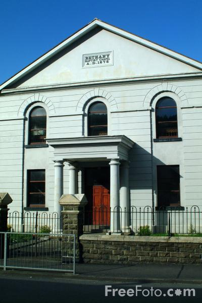Picture of Bethany Baptist Church, Treherbert - Free Pictures - FreeFoto.com