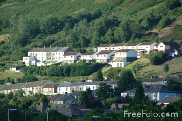 Picture of Rhondda Valley - Free Pictures - FreeFoto.com