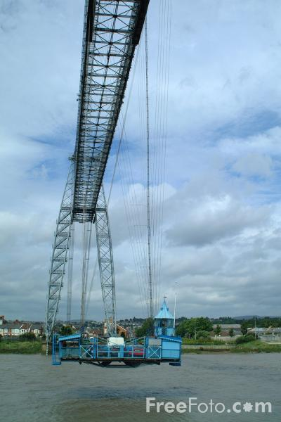 Picture of The Transporter Bridge, Newport, South Wales - Free Pictures - FreeFoto.com