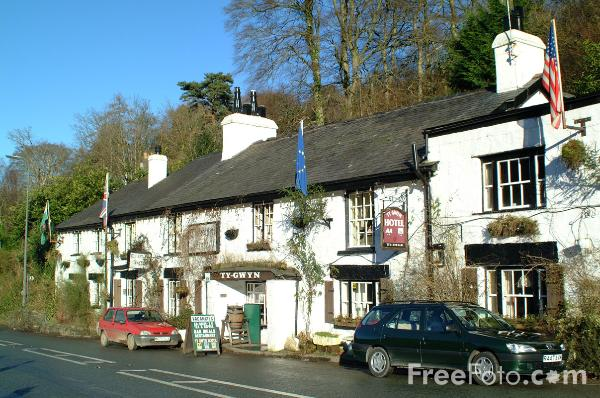 Picture of Ty Gwyn Hotel, Betws-Y-Coed - Free Pictures - FreeFoto.com