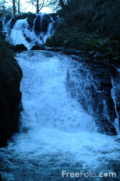 Picture of Swallow Falls, Betws-Y-Coed - Free Pictures - FreeFoto.com